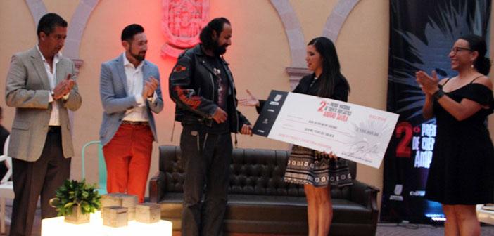 Ganador del 2º Premio Nacional de Cuento Fantástico Amparo Dávila
