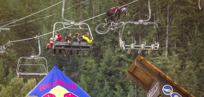 Competencia de «Biking» extremo en vivo por Red Bull TV