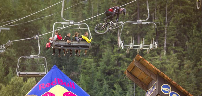 Competencia de «Biking» extremo en vivo por Red Bull TV