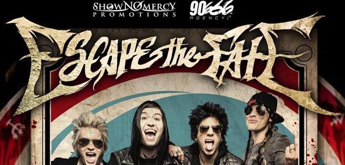 Escape The Fate en Guadalajara 2016