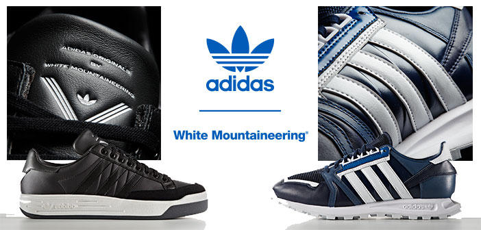 adidas Originals por White Mountaineering en Flagship Store Mexico City