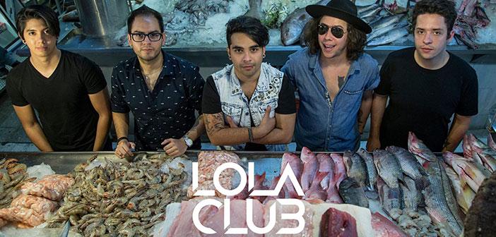 """LOLA CLUB presentará en Octubre """"HOMÓNIMO"""""""