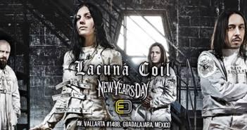 Lacuna Coil en Guadalajara