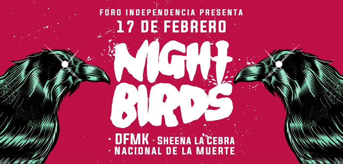 Night Birds en Guadalajara 2017
