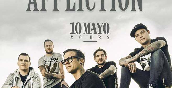 The Amity Affliction en Guadalajara 2017