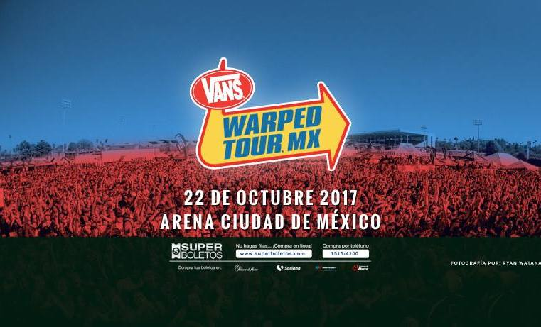 Vans Warped Tour MX 2017