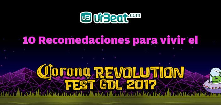 Recomendaciones para Vivir el Revolution Fest
