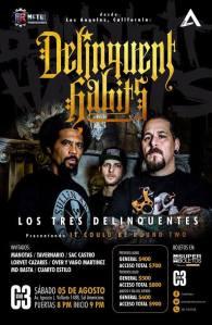 Delinquent Habits en Guadalajara 2017