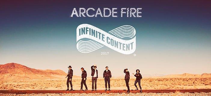 Arcade Fire en México y Guadalajara Infinite Content Tour
