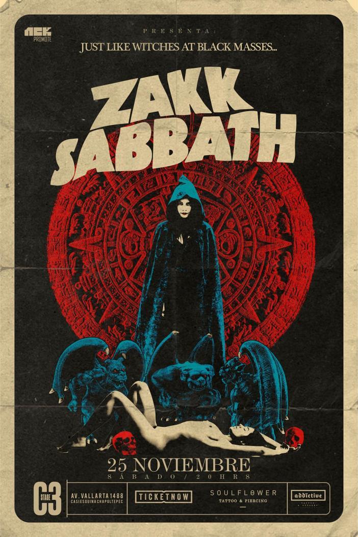 Zakk Sabbath en Guadalajara 2017
