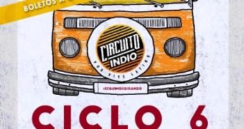 Cartel Ciclo 6 Circuito Indio por Vive Latino
