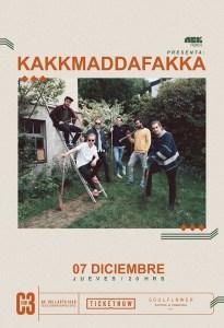 Kakkmaddafakka en Guadalajara 2017