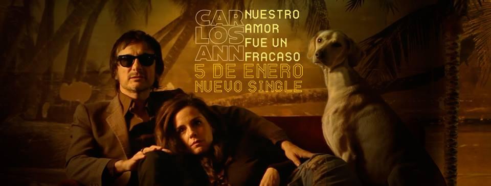 Carlos Ann lanza «Nuestro Amor fue un Fracaso»