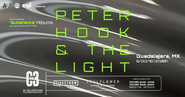 Peter Hook & the Light en GDL 2018