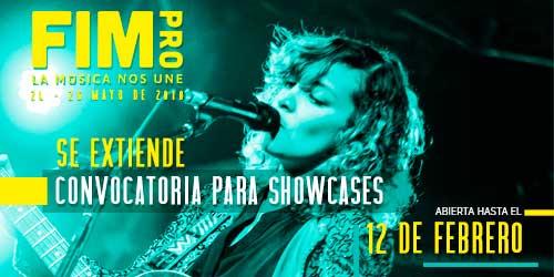 Se extiende convocatoria para showcases FIMPRO 2018