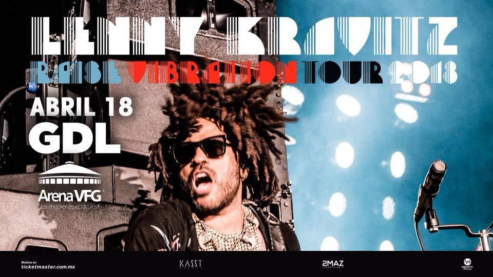 Lenny Kravitz | Raise Vibration Tour 2018 GDL