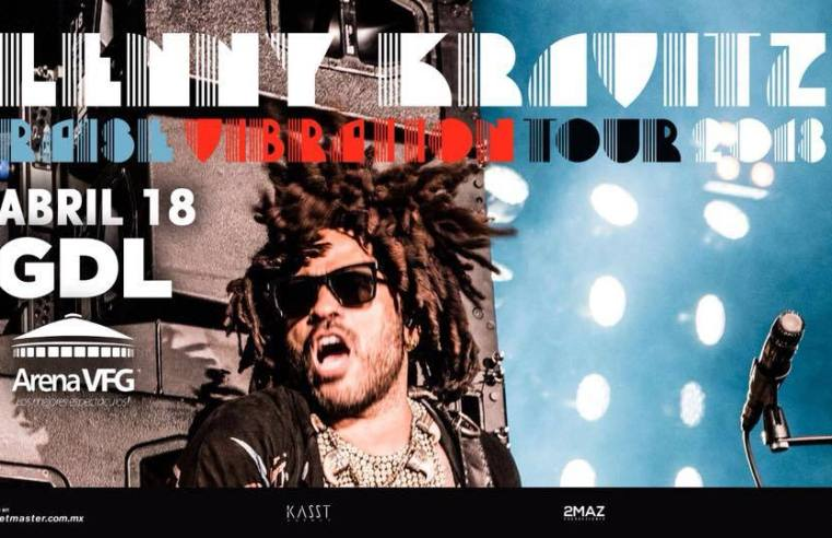 Lenny Kravitz   Raise Vibration Tour 2018 GDL
