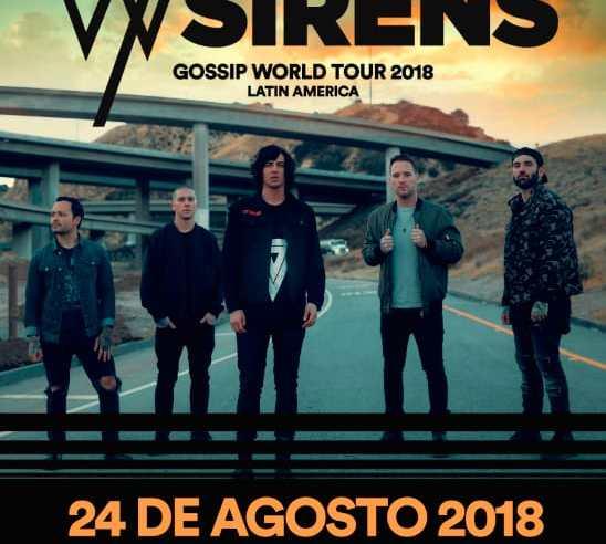 SLEEPING WITH SIRENS regresa a México