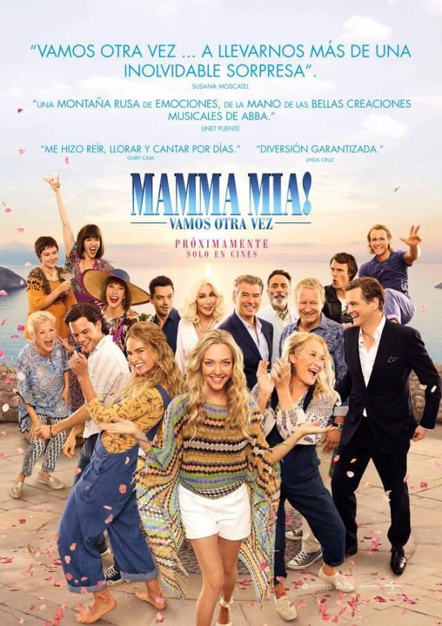 MAMMA MIA 2 Premier GDL 2018