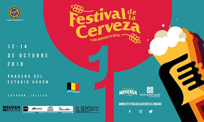 Festival de la Cerveza 2018 Guadalajara