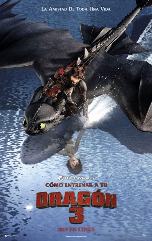 Premiere Como Entrenar a tu Dragón 3 Guadalajara