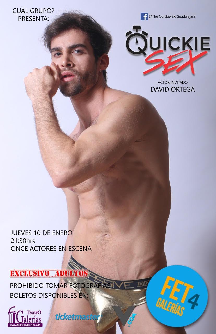 Quickie Sex en el FET4 Teatro Galerías