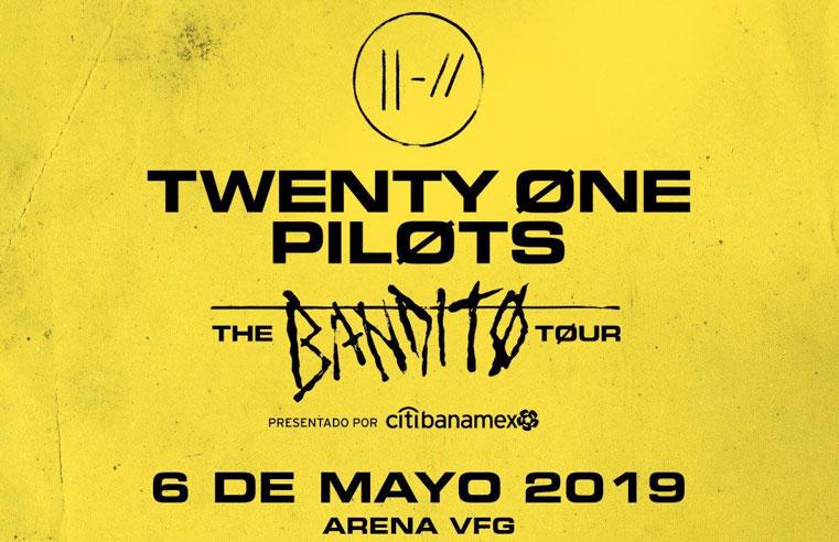 Twenty One Pilots: The Bandito Tour – Guadalajara