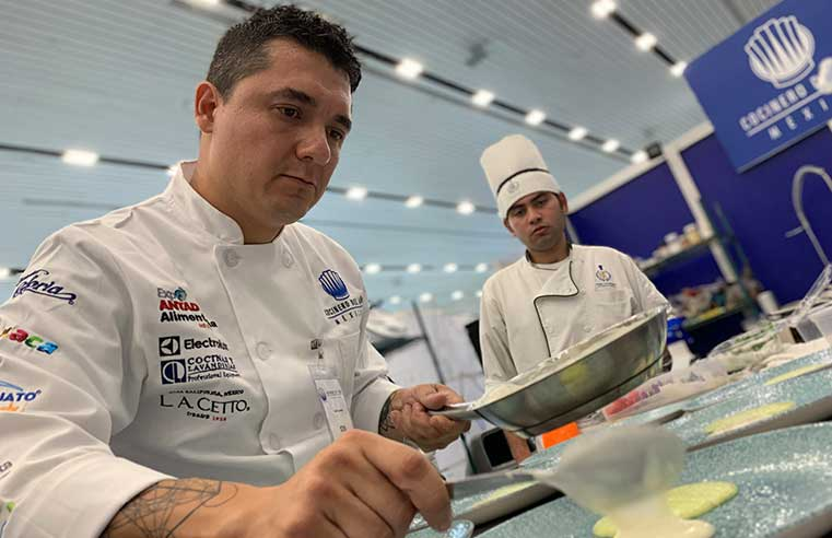 Ganador Cocinero del Año México 2019 sexta edición