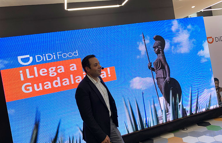 Arranca DiDi Food Guadalajara