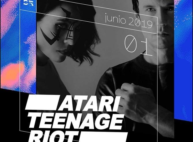 Atari Teenage Riot en Guadalajara 2019