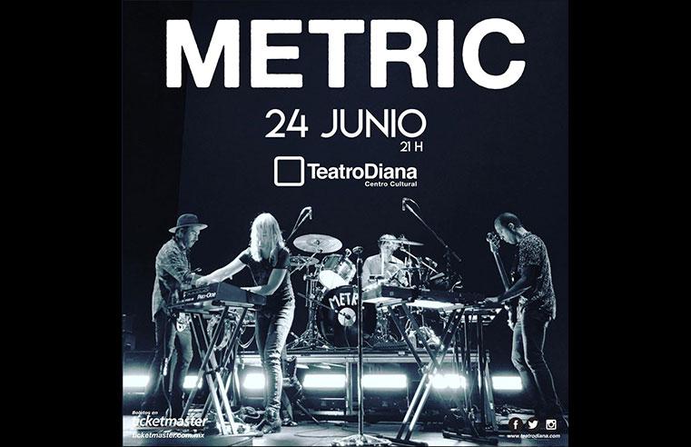 Metric en Guadalajara 2019