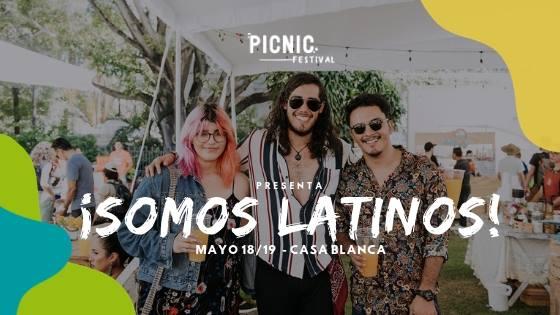 PicnicFestival ¡Somos latinos! 18 y 19 mayo 2019