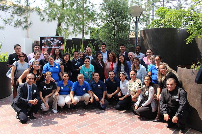 Hilton celebra 100 años y en México se une a Reforestamos México