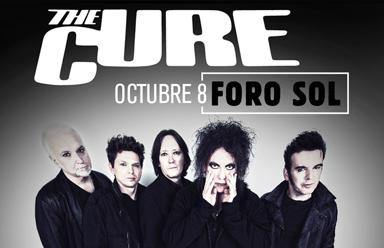 Regresa The Cure a Ciudad de México