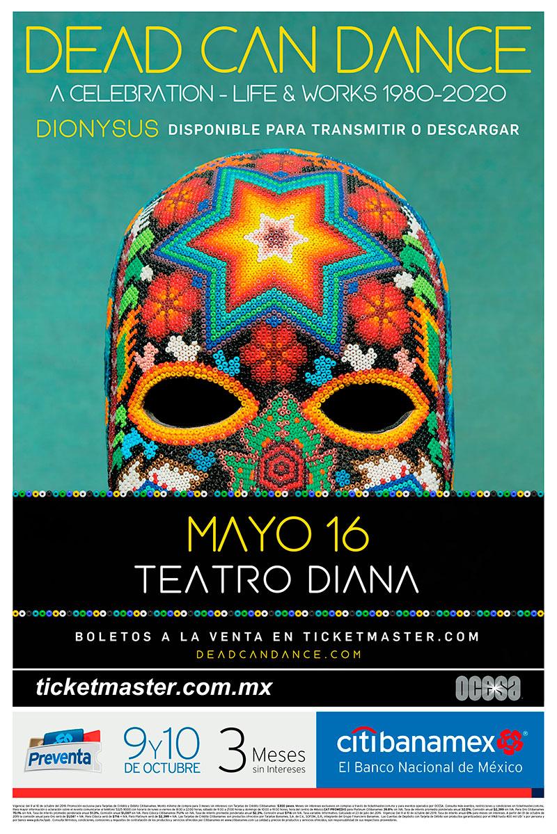 Dead Can Dance México 2020