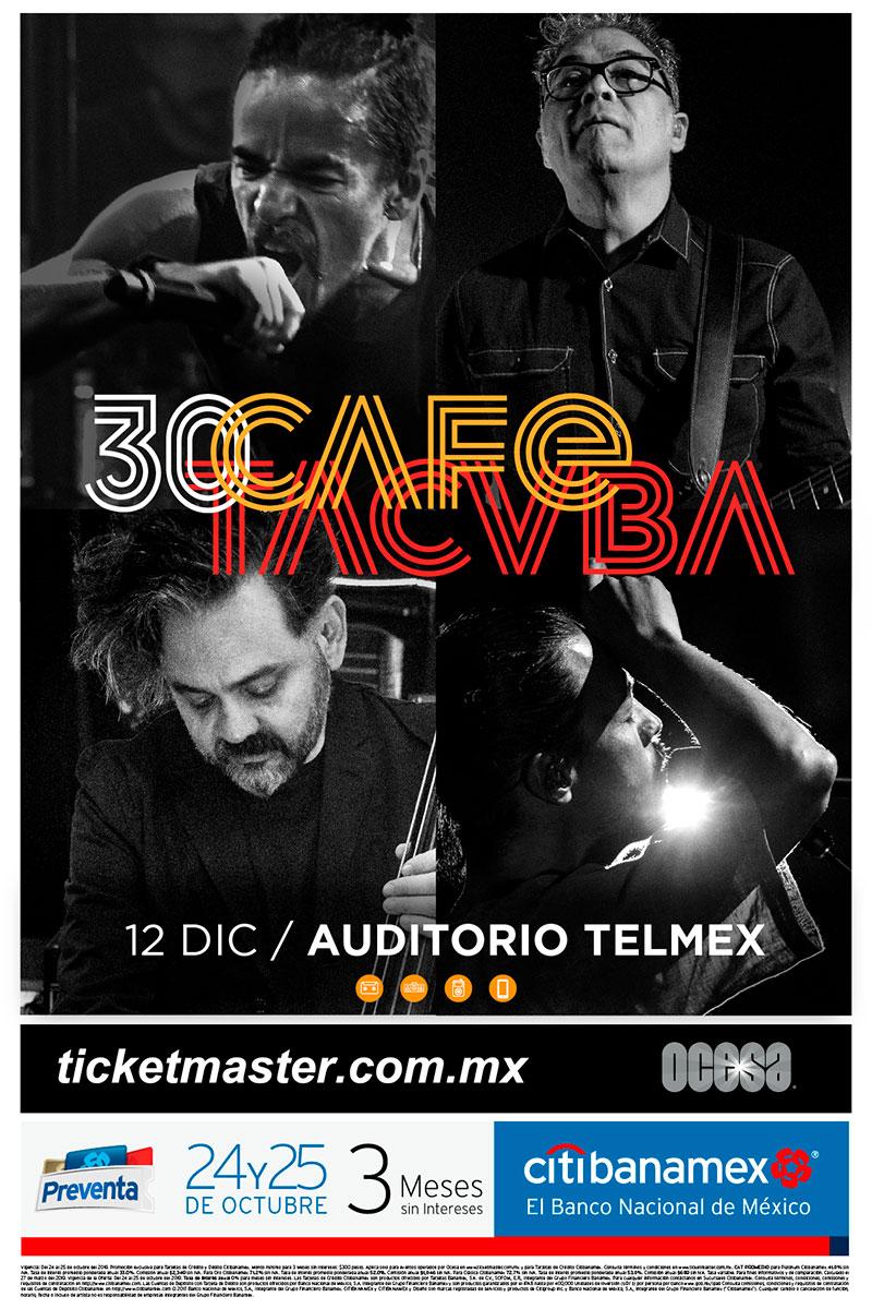 Café Tacvba Guadalajara 2019