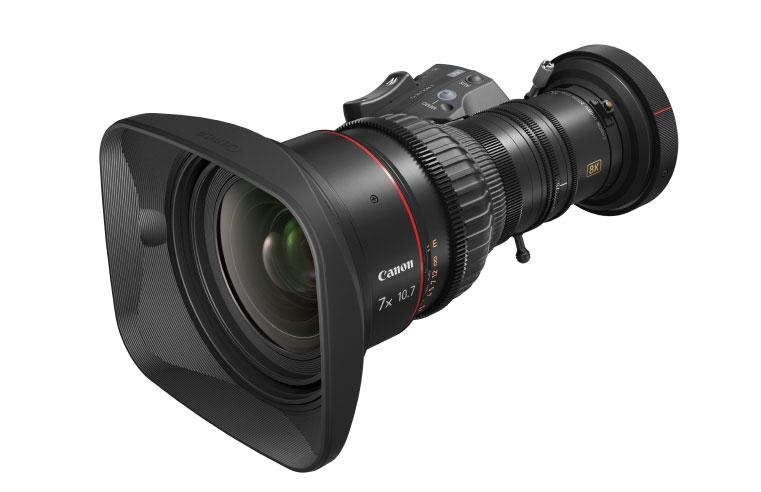 Canon Mexicana presenta sus primeros 2 Lentes de Televisión 8K