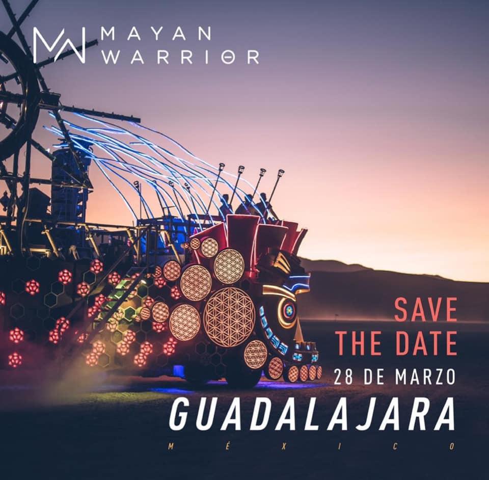 Mayan Warrior Fundraiser Guadalajara (Full Art Car)