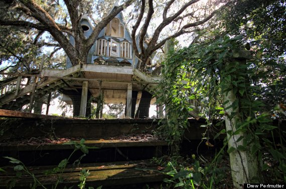 Abandoned Treehouse Mansion