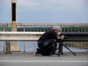 Ein Fotograf in Action