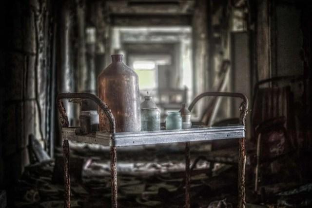 entdeckt im Krankenhaus in Pripyat