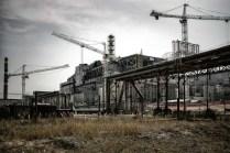Das havarierte Kraftwerk in Tschernobyl