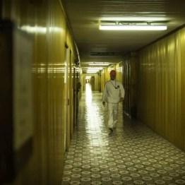 Der goldene Flur im Kernkraftwerk Tschernobyl