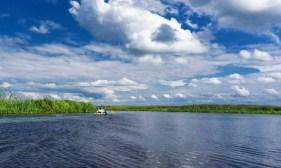 Paddeltour auf dem Pripyat Fluss