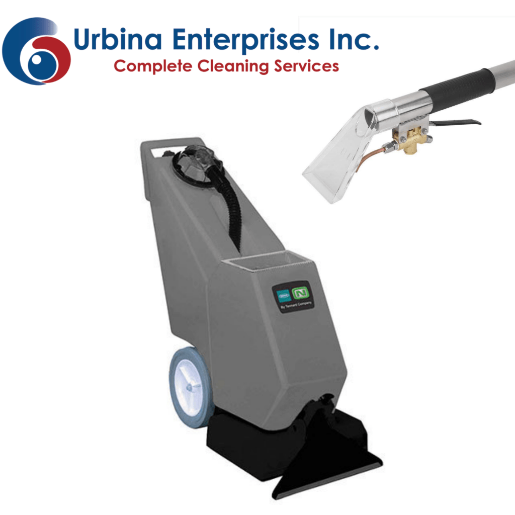 Carpet Cleaner with Urbina Logo