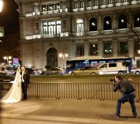 United Love on the Gran Via, Madrid...