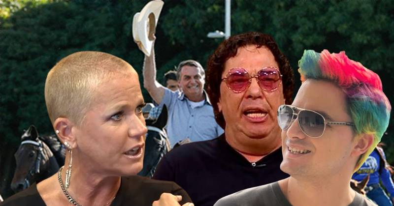 Xuxa, Casagrande e Felipe Neto assinam pedido de impeachment de Bolsonaro