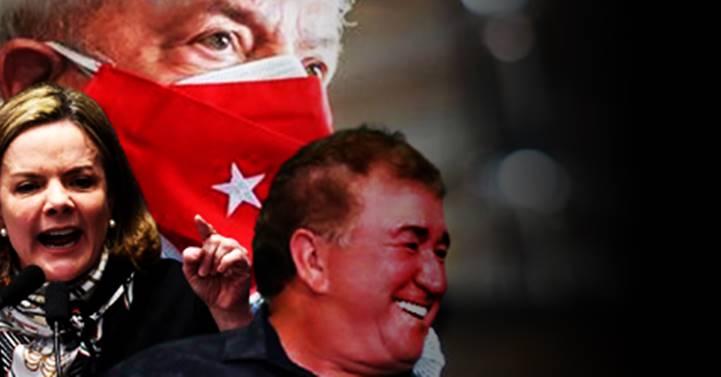 """Gleisi: """"Amado Batista enfrentará a Justiça. STF divulgou acórdão da suspeição de Moro. Cuidado com a língua, mentirosos"""""""