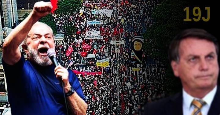 """Lula, em dúvida sobre ida ao '19J': """"Não quero transformar um ato político em um ato eleitoral"""""""