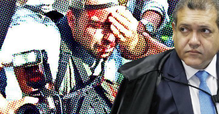 Marques é único  voto contra indenização a repórter que perdeu visão atingido por PM em manifestação